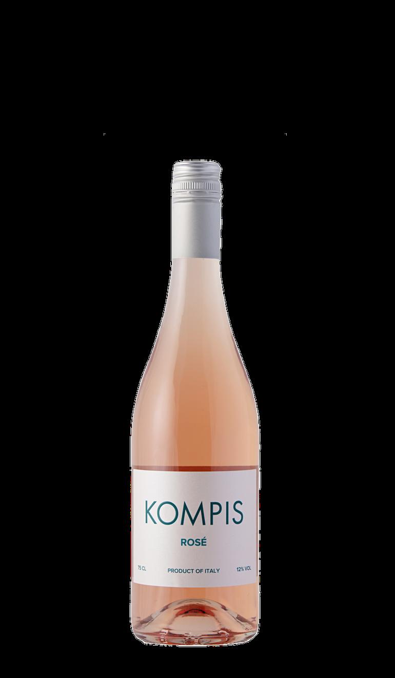 Flaskebilde av Kompis Rosé