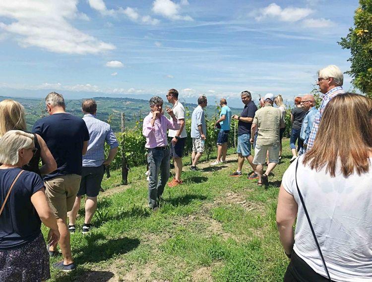 Wine tour to Piemonte, Italy 7-10/06/18