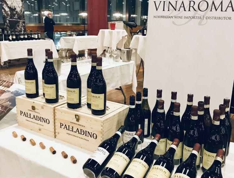 Piemonte Wine tasting 30/10/18
