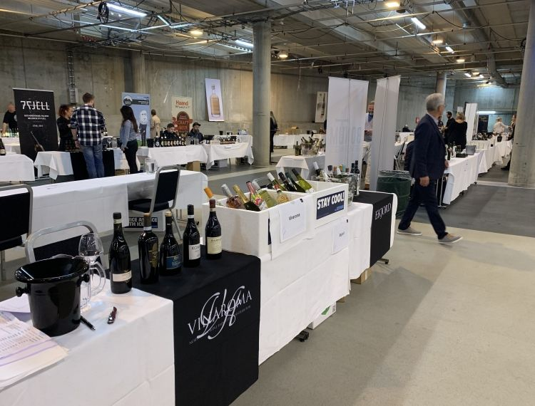 Wine fair in Bergen 30/04/19