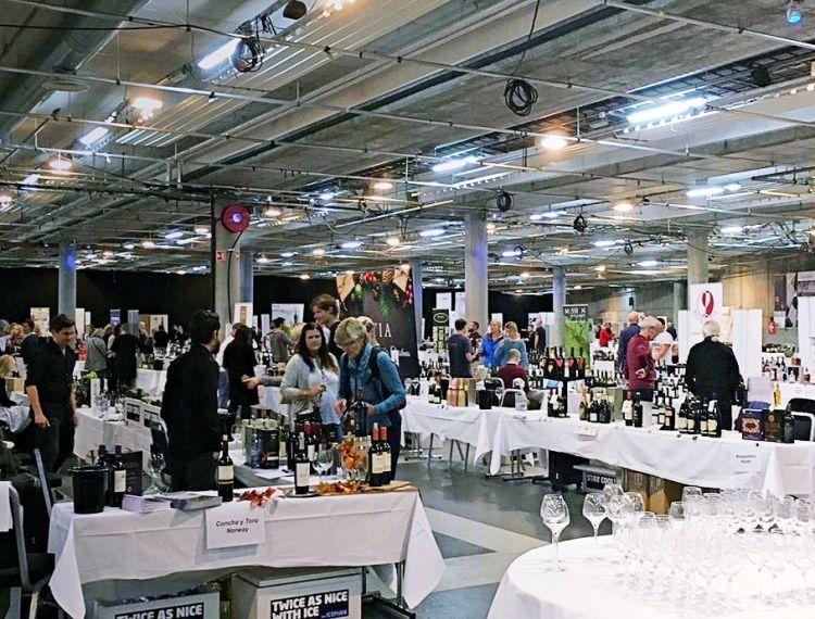 Monopoly wine tasting in Bergen 09/05/19