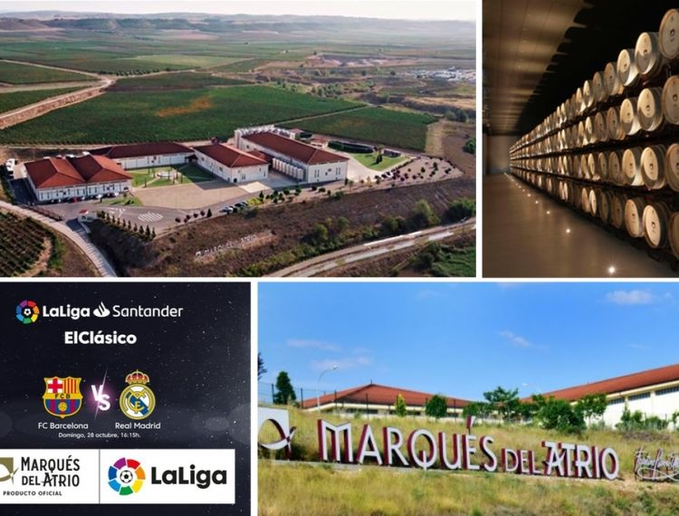 New producer Marqués del Atrio - LaLiga's official wine partner.